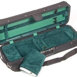 Bobelock Featherlite 1003 Oblong Black/Green 4/4 Violin Case